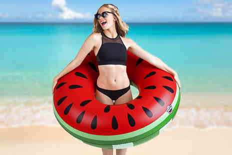 Snap Gadget - Watermelon pool inflatable - Save 72%