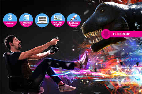 e courses4you - Game Development 101 online course bundle - Save 97%