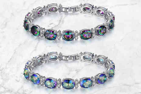 Your Ideal Gift - Rainbow crystal bracelet - Save 86%