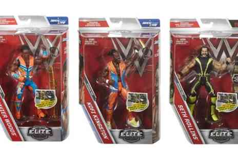 Groupon Goods Global GmbH - Wwe Elite Figures Triple Pack With Free Delivery - Save 25%
