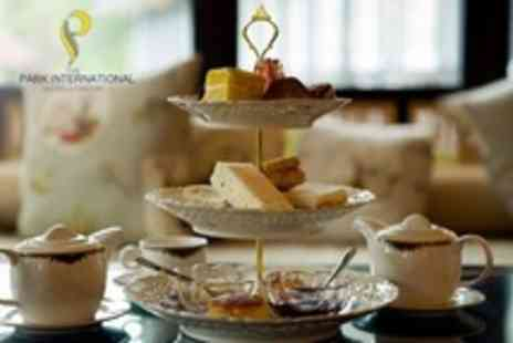 Park International Hotel - Champagne Afternoon Tea For Two People - Save 54%