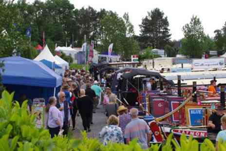 Crick Boat Show - Ticket to Crick Boat Show on 28 May - Save 50%