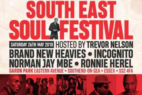 South East Soul Festival - One or Three Tickets to South East Soul Festival on Saturday 26 May - Save 10%
