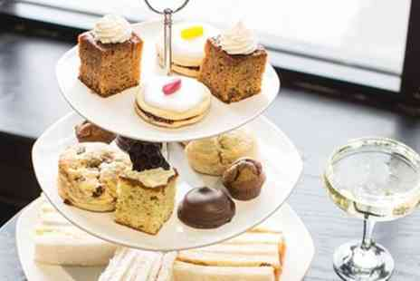 Wicked Lounge - Afternoon Tea with a Glass of Fizz for Two or Four - Save 58%