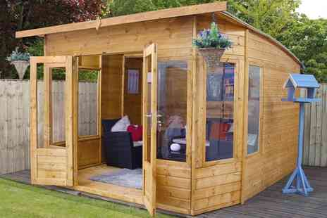 Groupon Goods Global GmbH - Mercia Premium Helios Summerhouse With Free Delivery - Save 0%