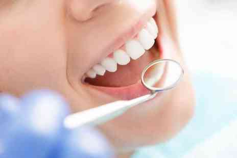 Maple Dental Clinic - Full dental exam with a scale and polish - Save 73%