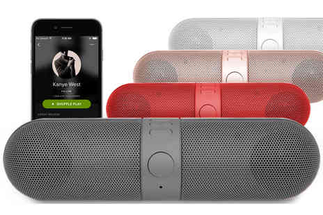 Some More - Aquarius Bluetooth wireless speaker - Save 65%