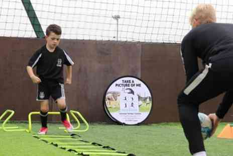 121 Sports Coaching - Up to Six Kids One to One Football Coaching Sessions - Save 50%