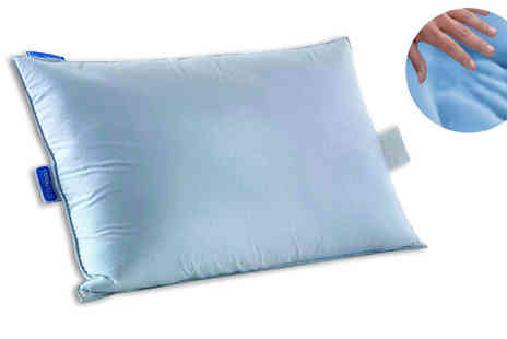 Tru Sleep - TruSleep Cooling Memory Foam Pillow 1, 2 or 4 - Save 69%
