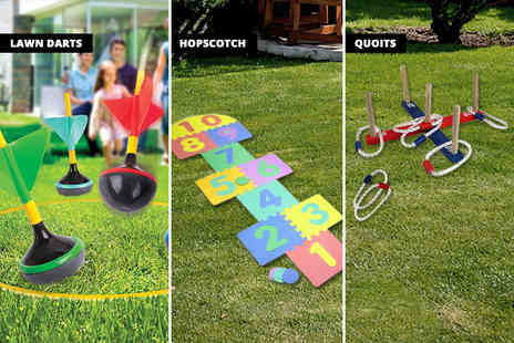 SPOT PROMOTIONS - Garden game choose from three classic games - Save 65%