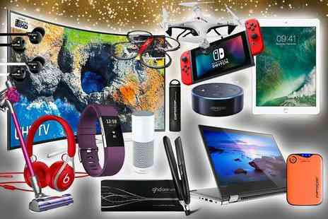 HCI Distribution - Mystery gadget deal from VEHO, ghd, FitBit,  Samsung curved LED TV, Lenovo laptop and more - Save 0%