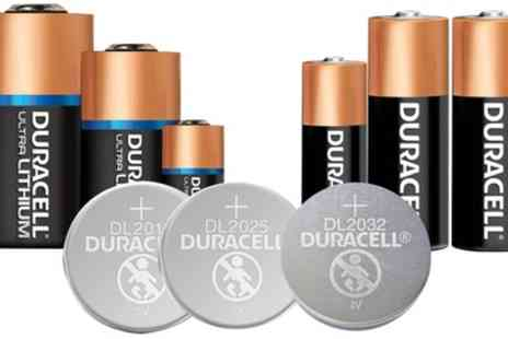 Groupon Goods Global GmbH - Duracell Batteries - Save 73%