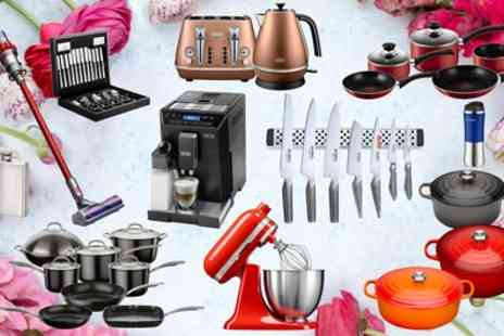 Groupon Goods Global GmbH - Cookware Spring Mystery Deal with a Chance to Receive Le Creuset, KitchenAid Mixer, Hip Flasks and More - Save 0%