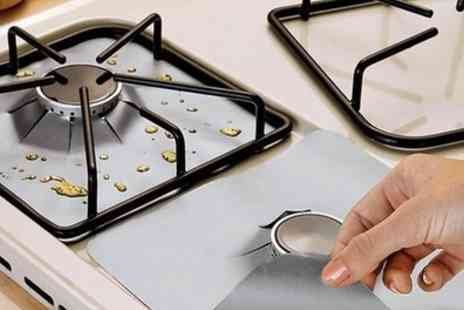 Groupon Goods Global GmbH - Up to 20 Non Stick Stove Hob Protectors Set - Save 60%