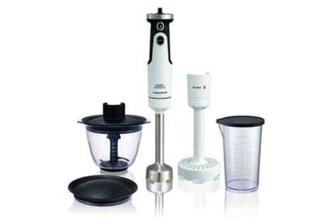 Groupon Goods Global GmbH - Morphy Richards 402051 Hand Blender Set - Save 61%