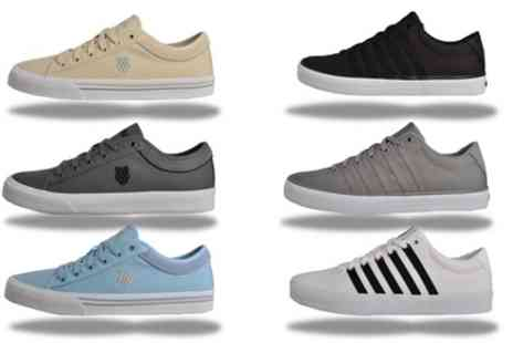 Groupon Goods Global GmbH - K Swiss Mens Classic Heritage Trainers - Save 62%