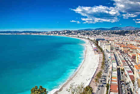Hotel Beau Rivage - Four Star Contemporary Cote d Azur Retreat For Two - Save 61%