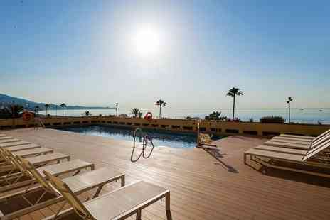 Ilunion Fuengirola  - Four Star Design Hotel Stay For Two on Seafront Promenade - Save 49%