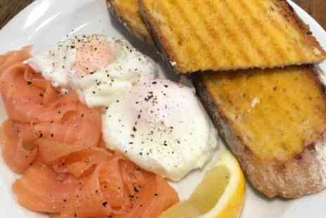 The Laine Deli - Breakfast with Hot Drink for One, Two or Four People - Save 34%