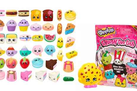 Groupon Goods Global GmbH - Two or Three Shopkins Slow Rise Squish Dee Lish Toys - Save 0%