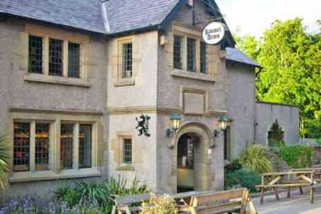 The Kinmel Arms - North Wales meal for 2 with bubbly at 2 AA Rosette inn - Save 46%