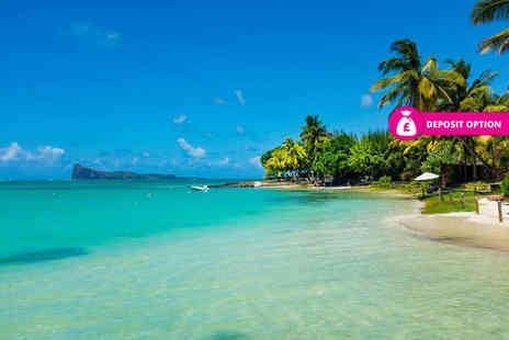 Crystal Travel - Seven or ten night all inclusive Mauritius beach getaway with return flights - Save 23%