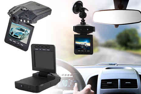 TY Direct - HD portable DVR dash cam or dash cam with 32GB SD card - Save 80%