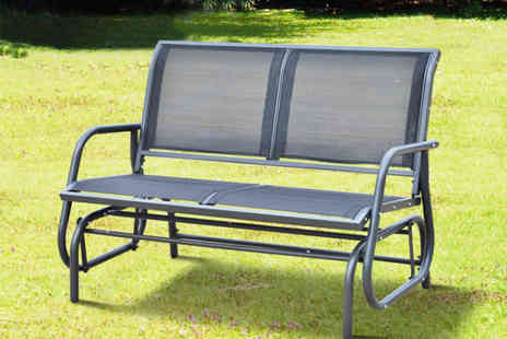 Aosom - Outdoor double swing bench - Save 64%