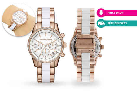 D2time - Michael Kors MK6324 two tone ladies watch plus Delivery is Included - Save 36%