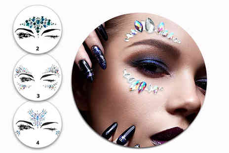 GetGorgeous - Pack of festival face jewellery - Save 73%