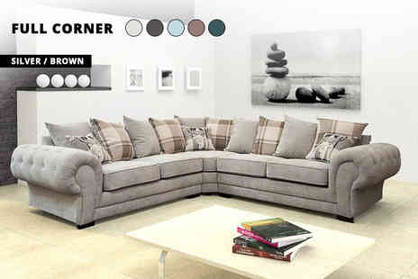 B B Trading - Venice sofa set choose between two seater, three seater, half corner, two plus three seater and full corner sets - Save 67%