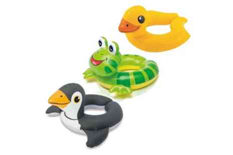 Groupon Goods Global GmbH - One, Two or Three Intex Inflatable Kids Swim Rings - Save 67%