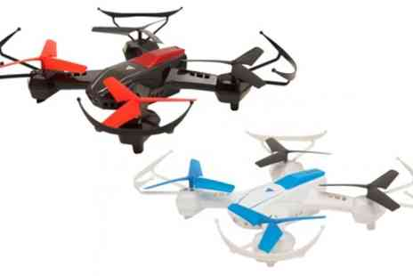 Groupon Goods Global GmbH - GoClever Sky Fighters Drone Set with Two Drones and Remote Control - Save 0%