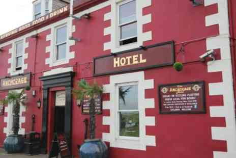 The Anchorage Hotel - Up to 3 Nights with Breakfast and 15% Off Food from the Main Menu - Save 0%