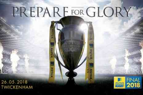 Premiership Rugby Final - One category 3 ticket to Premiership Rugby Final with private bar access on 26 May - Save 0%