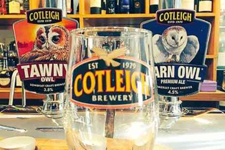 Cotleigh Brewery - One Hour Brewery Tour and Beer Tasting for One, Two or Four - Save 33%