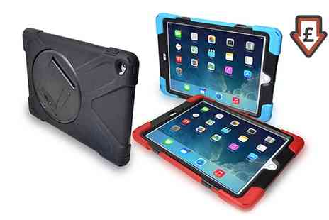 Groupon Goods Global GmbH - Rugged Tough Case for iPad 2, 3, 4, iPad Air, iPad Air 2 or iPad Mini in Choice of Colour with Build In Screen Protector - Save 0%