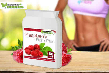 Better Bodies - One or three month supply of raspberry ketone burn plus - Save 61%
