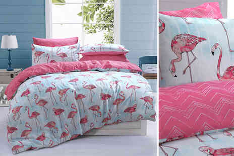 Eurotrade - Single quirky bedding set choose from three designs - Save 72%