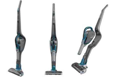 Groupon Goods Global GmbH - Black & Decker Smart Tech 2 in 1 Cordless Stick Vacuum With Free Delivery - Save 30%
