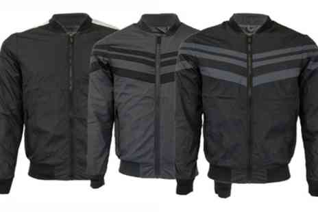 Groupon Goods Global GmbH - Mens Lightweight Brave Soul Baseball Jacket in Choice of Colour and Size - Save 0%