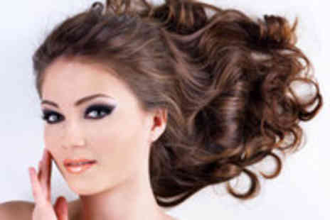 The Blow Dry Studio - Blowdry and Smoky Eyes Makeup  Application - Save 69%