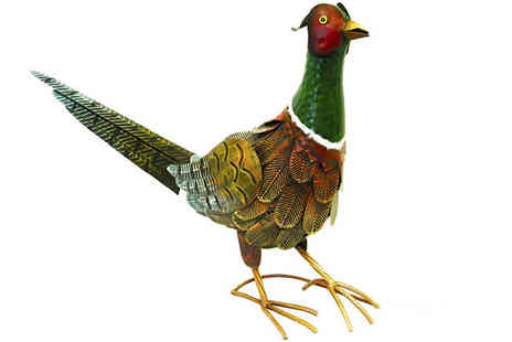 M&M Deals - Pheasant Garden Ornament - Save 14%