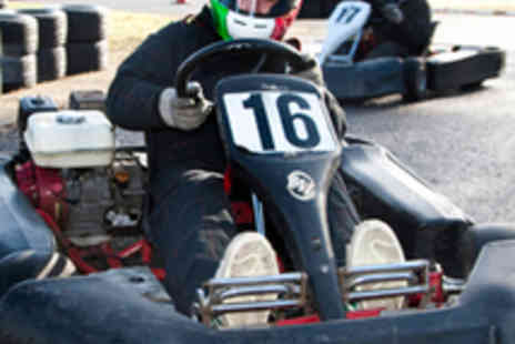 Matchams Karting - Go Karting Session Including Equipment - Save 52%