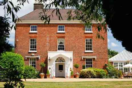 Hadley Park House Hotel - AA Rosette meal for 2 with bubbly in Shropshire - Save 42%