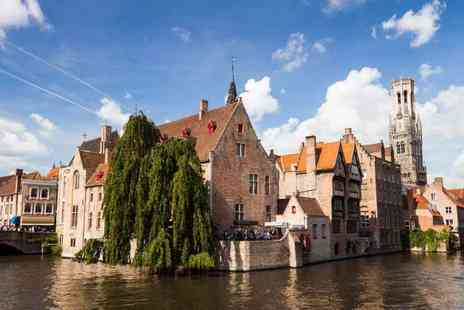 Short Break - Three night Bruges getaway with breakfast, Eurostar ticket, city tour and entry to the Choco Story Museum - Save 21%