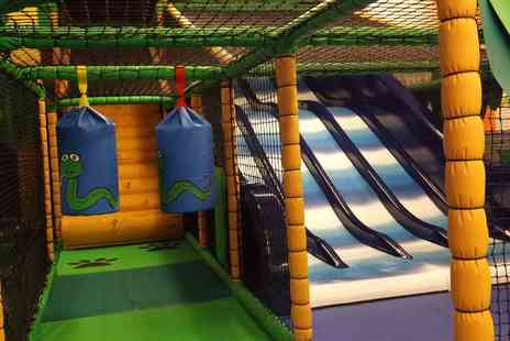 Cheeky Cherubs - Soft play entry and a jug of juice for two children - Save 0%