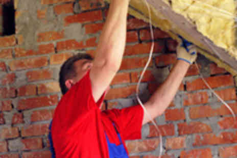 The Global Energy Saving - Loft or Wall Cavity Insulation - Save 90%