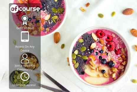 OfCourse - Online guide to healthy eating - Save 85%