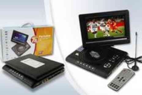 The Gadget Folk - 7.8 inch TFT LCD portable DVD and TV Player - Save 0%